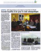 Article du Pays d'Auge - 27 novembre 2012