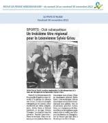 Article du Pays d'Auge - 30 novembre 2012