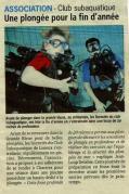 Article du Pays d'Auge - Decembre 2012